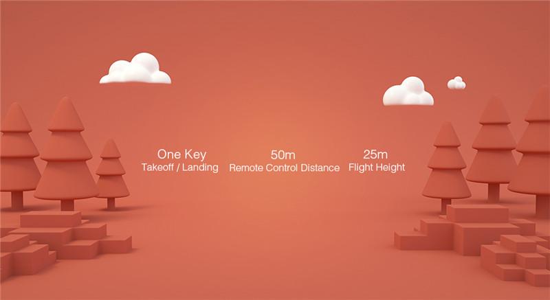 Xiaomi MITU WiFi FPV 720P HD Camera Mini RC Drone