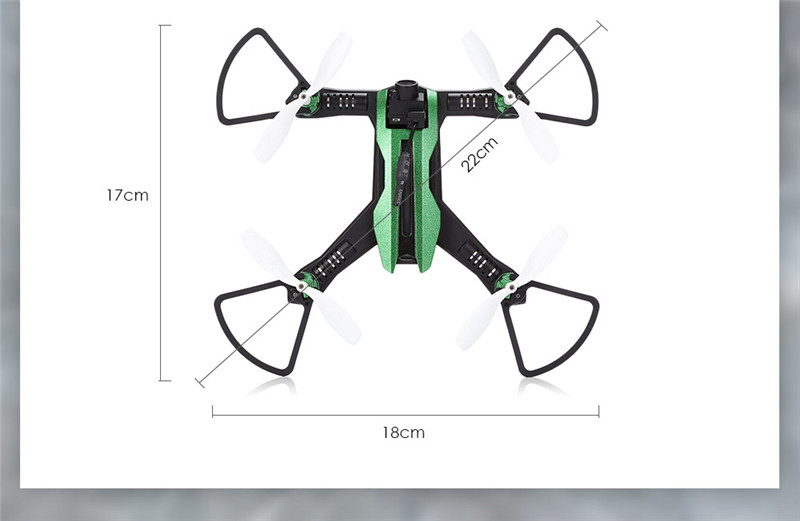 Flytec H825 5.8G FPV Wide Angle RC Drone Quadcopter