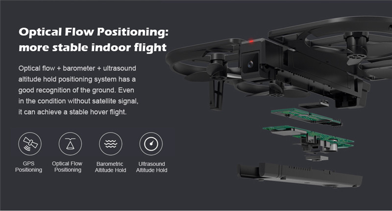 Youpin Foldable HD 1080P Altitude Hold iDol FPV RC Drone