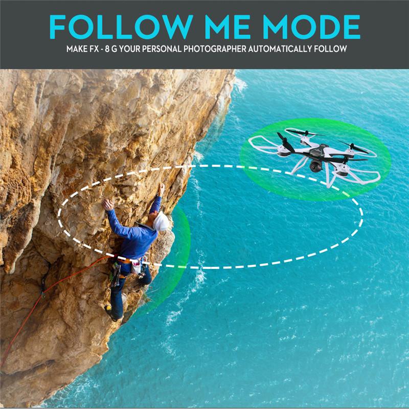 FX - 8G 1080P GPS FPV RC Drone