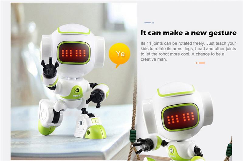 JJRC R9 Touch Sensing LED Eyes RC Robot Toy