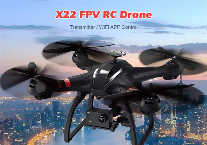 BAYANGTOYS X22 1080P WiFi FPV RC Drone