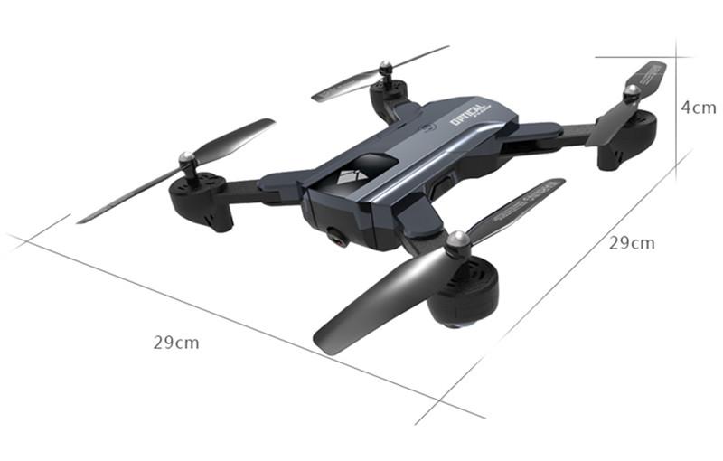 F196 WiFi 2MP HD PFV RC Drone Quadcopter