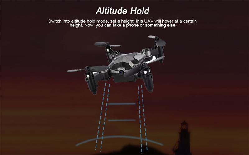 Watch Control Mini Foldable WiFi FPV RC Drone