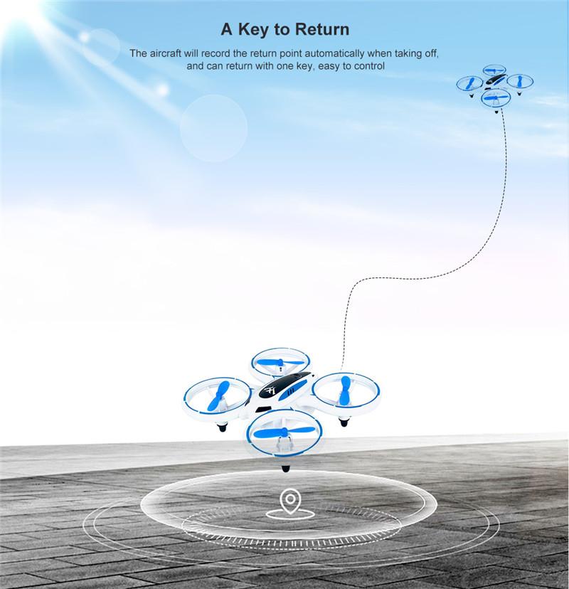 Illuminated Mini RC Drone Altitude Hold HD Camera