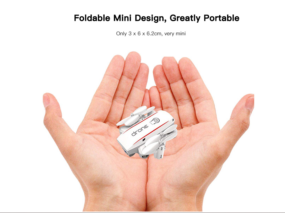Foldable Mini Altitude Hold Headless RC Drone Quadcopter