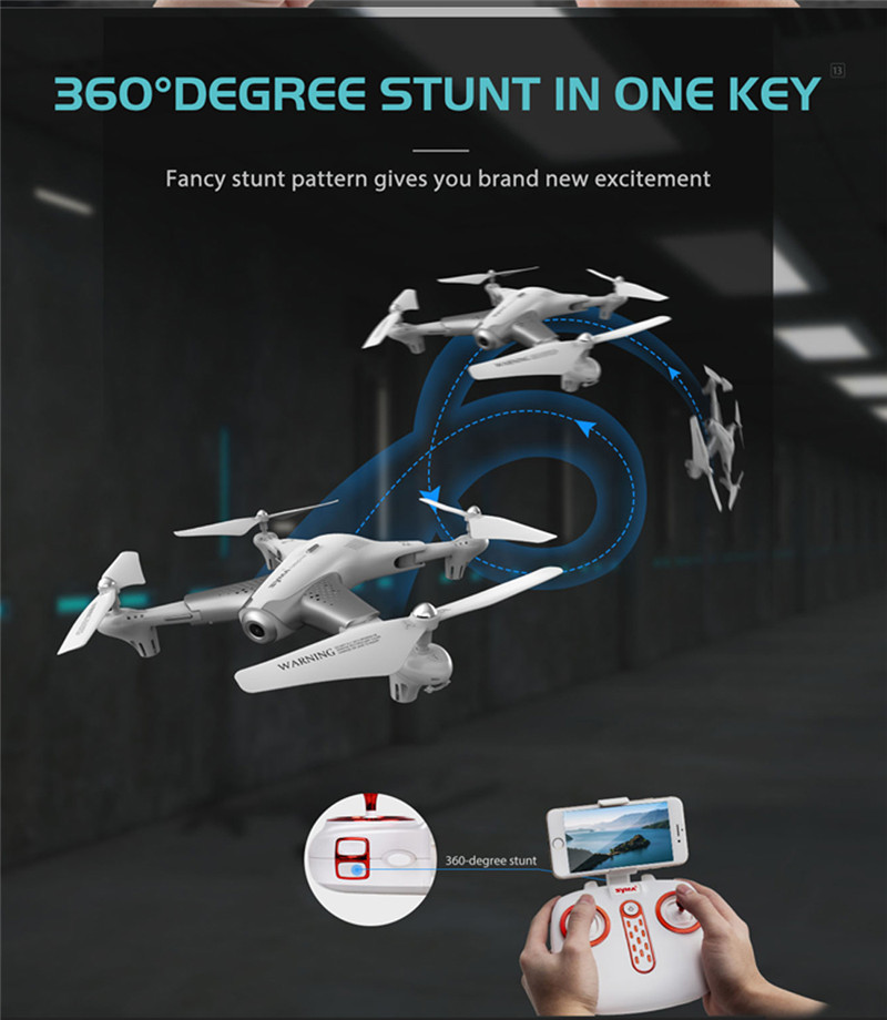 SYMA Z3 720P WiFi FPV Foldable RC Drone Quadcopter