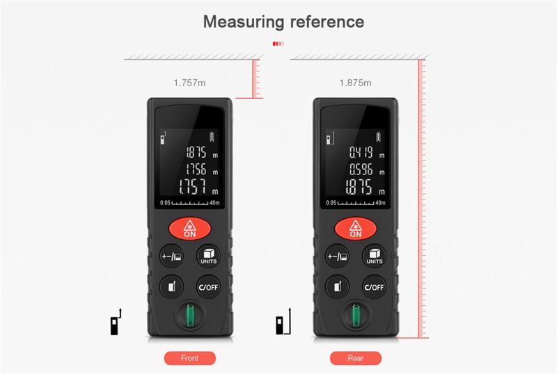 D40 Digital Laser Distance Meter Diastimeter
