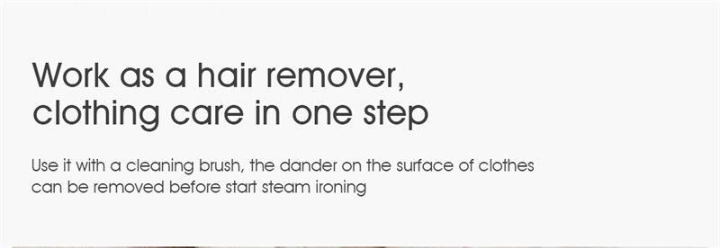 deerma DEM HS006 Foldable Garment Steamer Handheld Wrinkle Sterilization