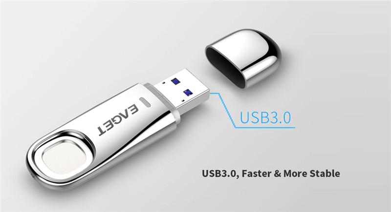 USB3.0 Fingerprint Encryption U Disk