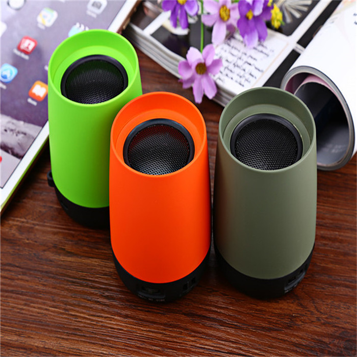 wholesale Exhaust Pipe Cup Shape Boombox Sound Speaker