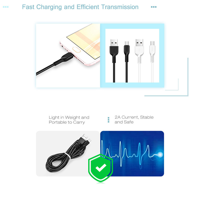 HOCO X13 Type-C Connector Easy Charging Data Transfer Cable 1M