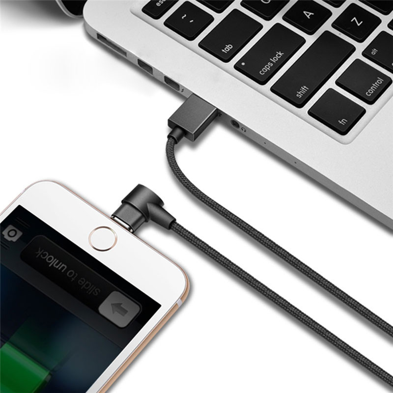 1M Nylon Magnetic Charging Cable 8 Pin Micro Type-C Devices