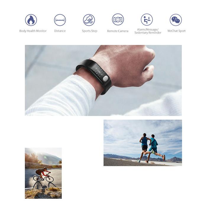 E29 Ppg+Ecg Smart Chip Bluetooth Wireless Sports Smart Bracelet For Ecg / Blood Pressure / Heart Rate / Blood Oxygen
