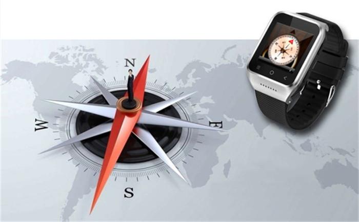 wholesale 3G Android 4.4 Smart Watch Phone Single SIM Bluetooth Camera