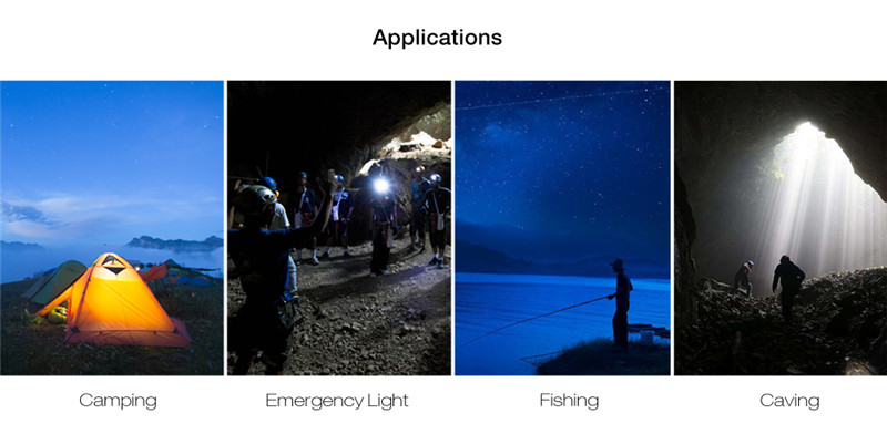 portable 5W camping lamp emergency bulb light outdoor hiking fishing caving