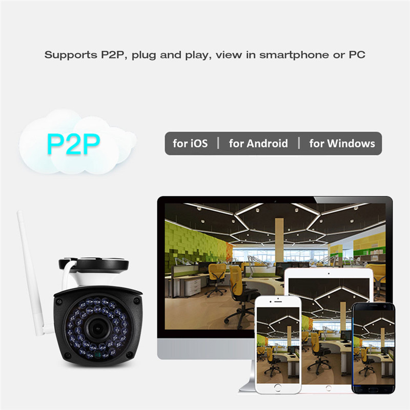 SV3C SV - B06W - 1080P 1.3MP WiFi Camera Outdoor Security Surveillance CCTV