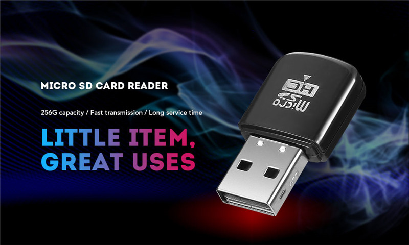 Mini Micro SD / TF Card Reader USB2.0
