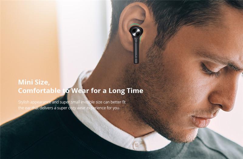 Bluedio Hi TWS In-ear Wireless Sports Bluetooth Earphone