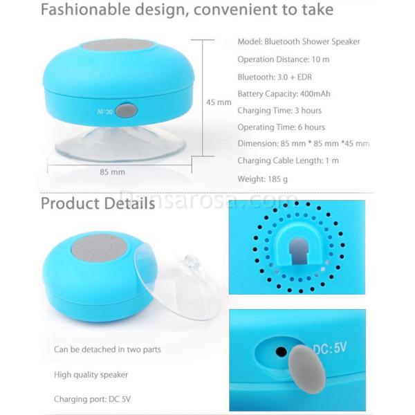 waterproof mini speaker with mic
