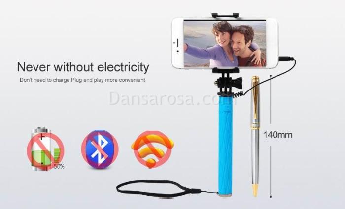 Ultra Mini Selfie Stick Extendable Monopad Z3-01