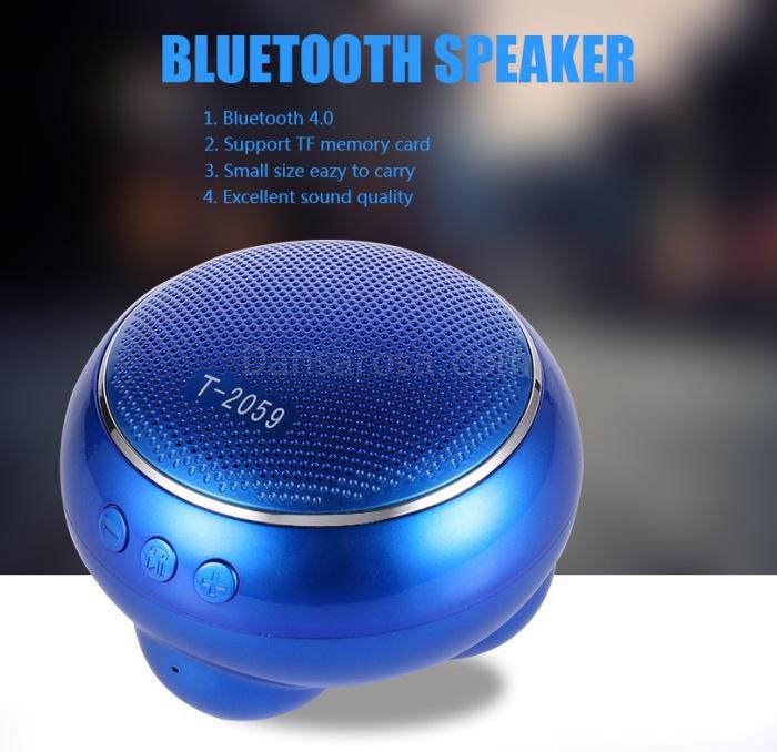 Portable Mini Bluetooth Speaker Subwoofer T2059