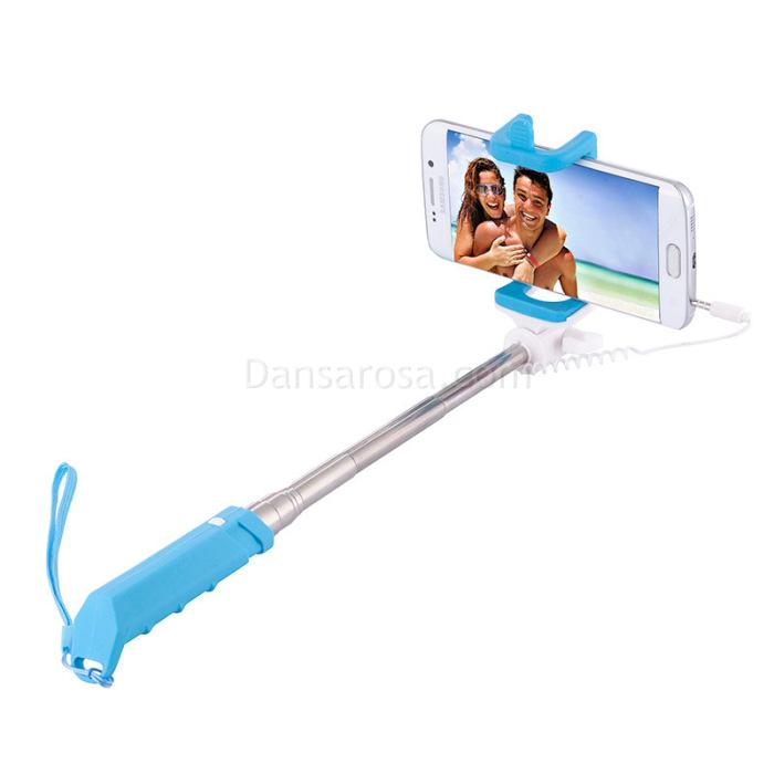 Rainbow Antiskid Ultra Mini Selfie Stick