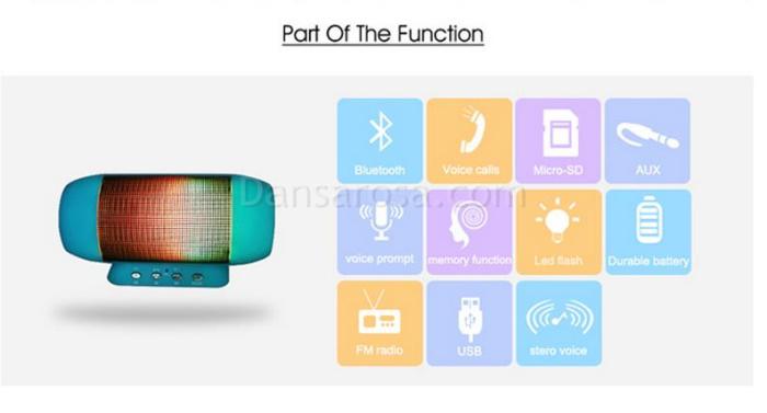 T2218A Mini Bluetooth Speaker