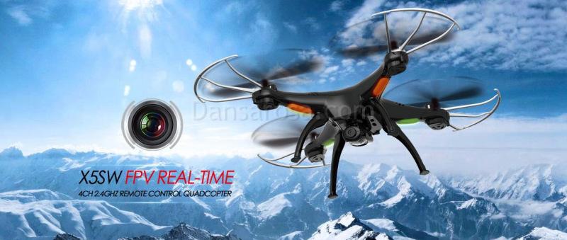 SYMA X5SW RC quadcopter FPV