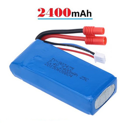 Syma X8G RC Quadcopter battery 2400mAh