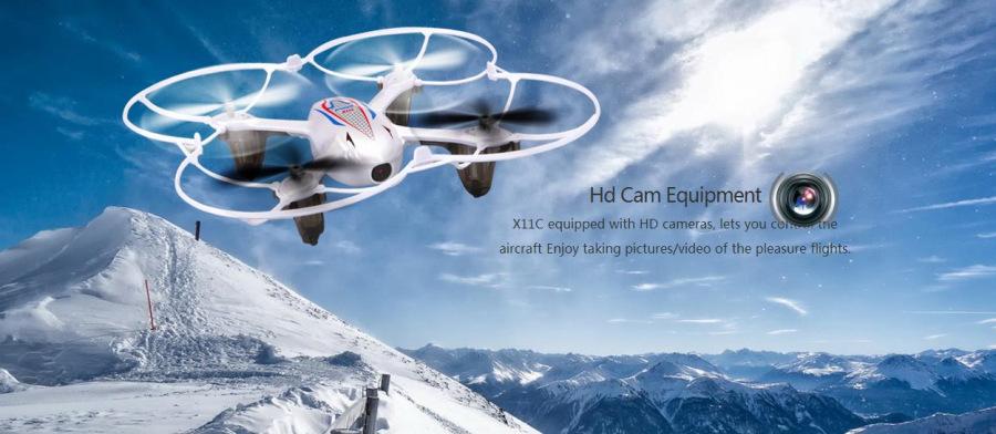 SYMA X11C RC quadcopter