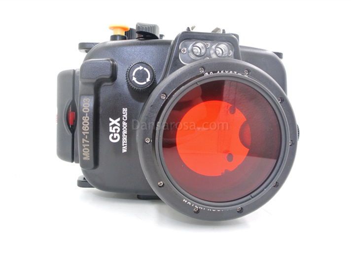 red filter for g5x waterproof case