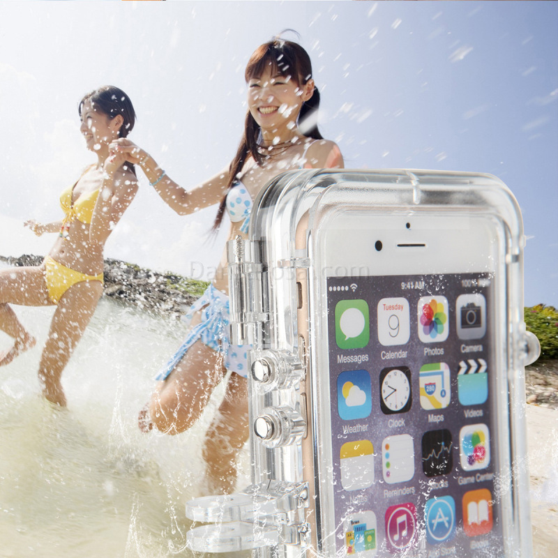 waterproofing housing for iphone 6 6s