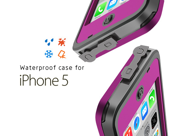 1m waterproofing housing for iphone 5 5s