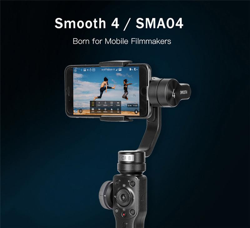 Zhiyun Smooth 4 handheld cellphone stabilizer