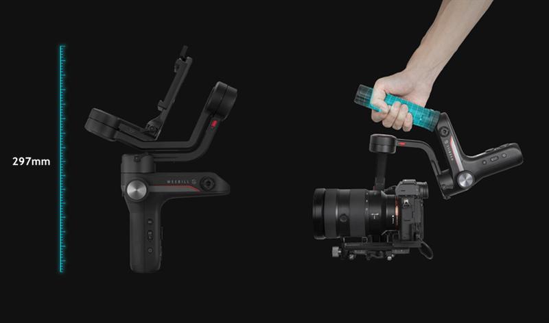Zhiyun Weebill S 3-Axis Handheld Gimbal Stabilizer for DSLR & Mirrorless Camera