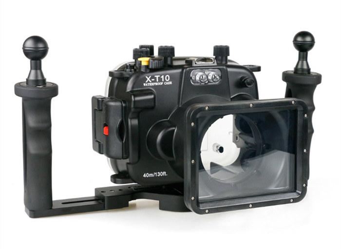 Fujifilm XT10 aluminum tray sethandle arm system
