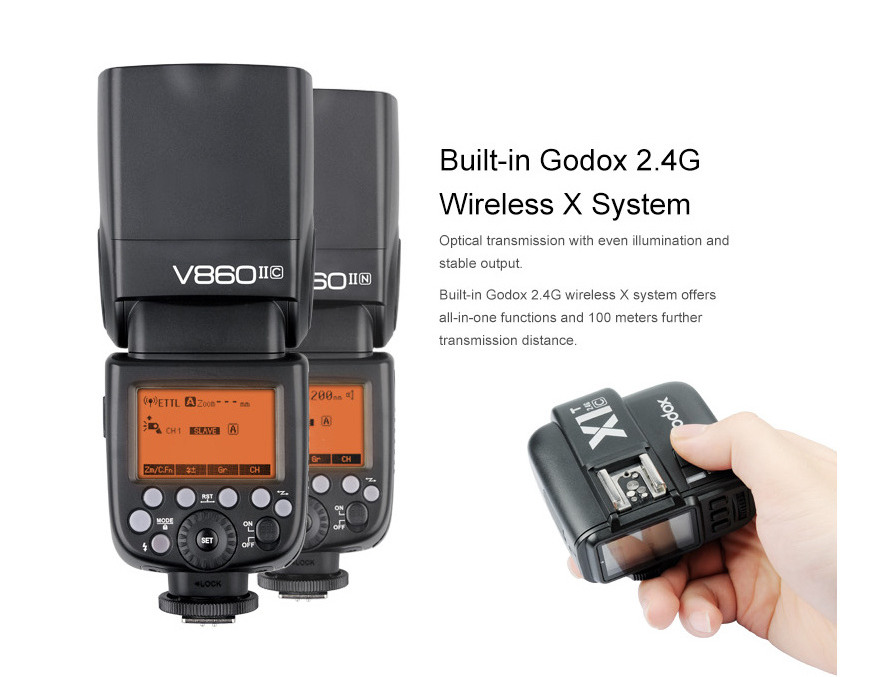 Godox V860II TTL Wireless Transmitter