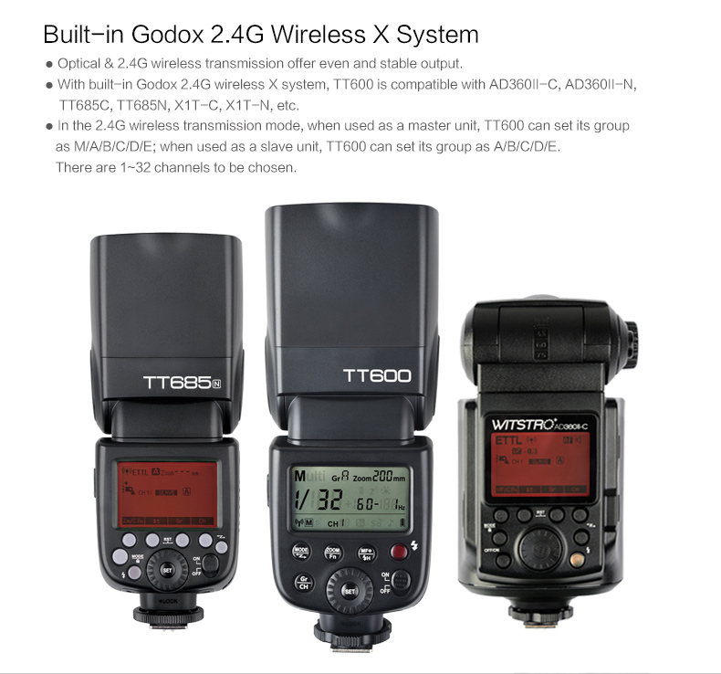 Godox TT600 Flash Speedlite