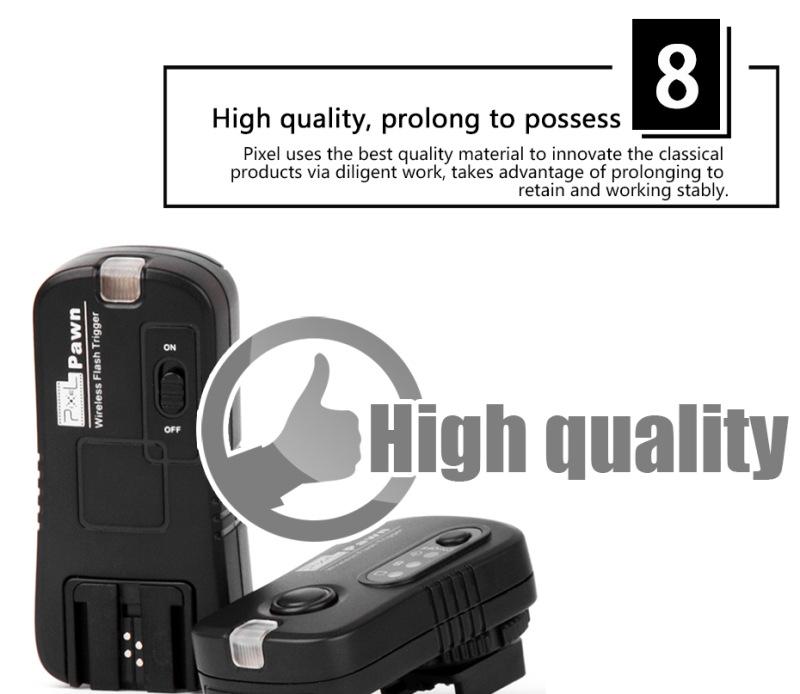 Pixel Pawn TF-364 Wireless Flash Trigger