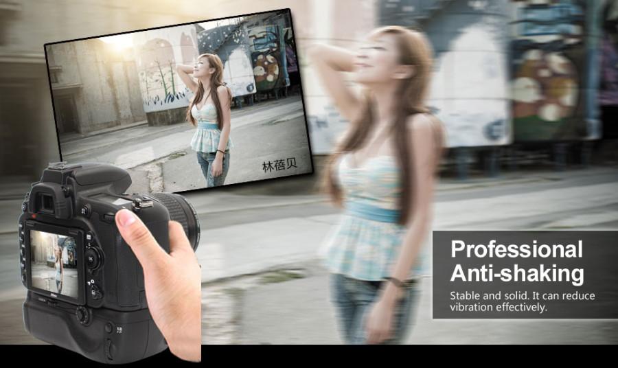 Pixel Vertax D16 Battery Grip Holder for Nikon D750