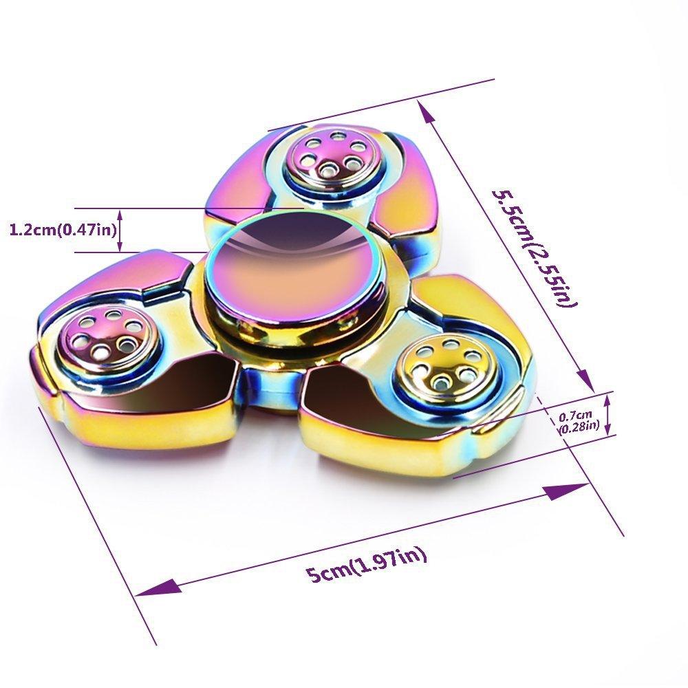 Fairy Bells Aluminum Fidget Spinners Fingertip Gyro