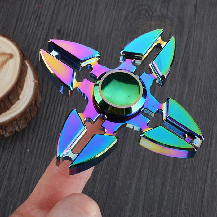 Metal Crab Aluminum Fidget Spinners Fingertip Gyro Toys