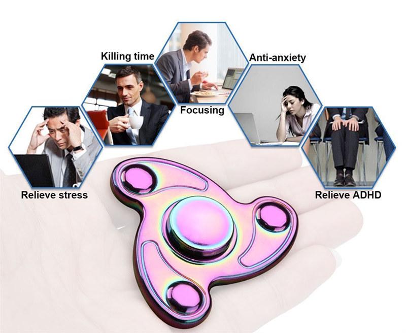 Snail Aluminum Fidget Spinners Fingertip Gyro Toys