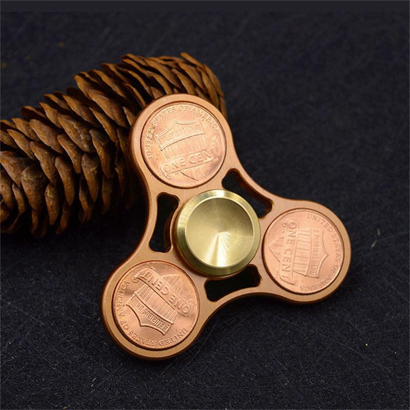 Cents Aluminum Fidget Spinners Fingertip Gyro Toys