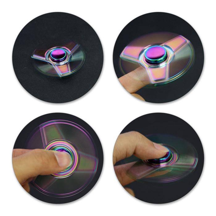 Arovane Aluminum Fidget Spinners Fingertip Gyro Toys