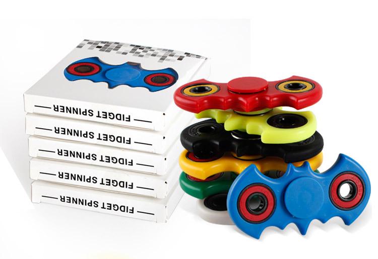 Batman Multicolor Fidget Spinners Fingertip Gyro Toy