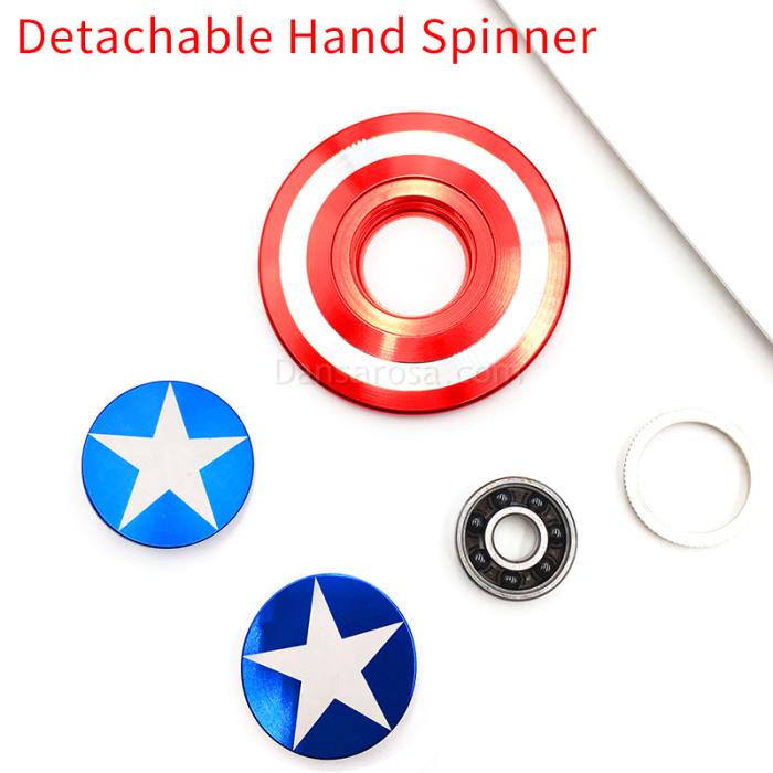 Captain America Fidget Spinner Finger Spinner E253
