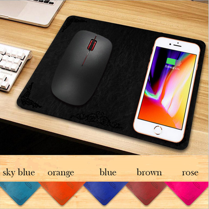 Wireless Charger Mouse Pad Mat
