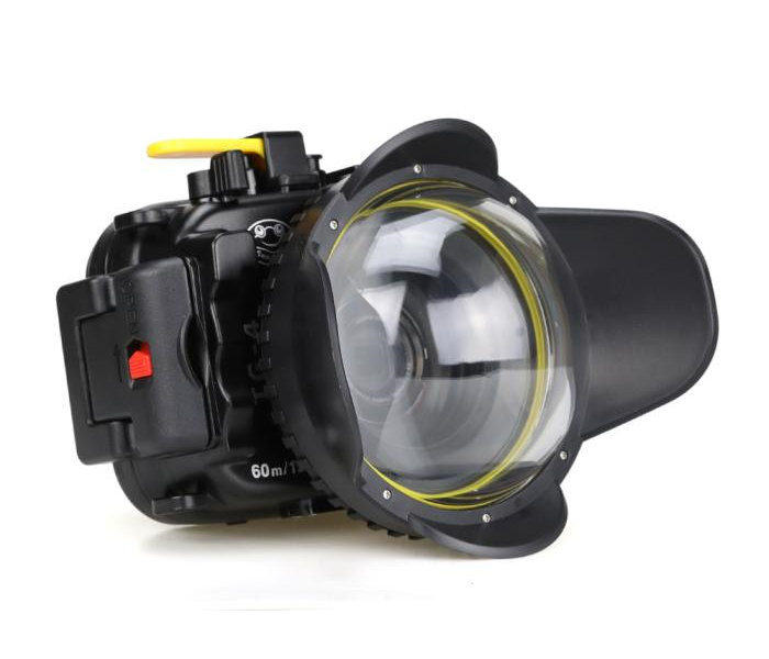 Olympus TG-6 waterproof case Fisheye dome port